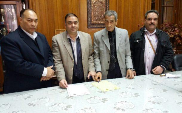 توقيع مذكرة تفاهم بين المعهد العالى للخدمة الاجتماعية والاتحاد الاقليمى للجمعيات والمؤسسات الاهلية بالاسكندرية