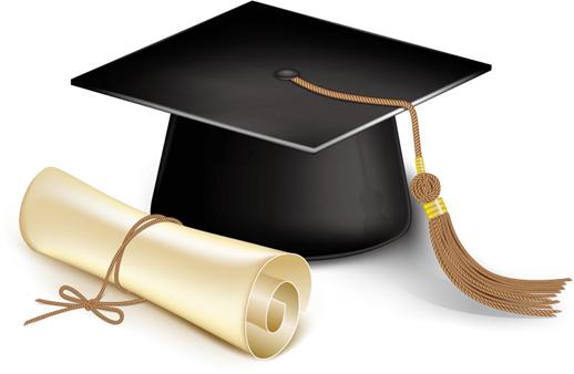 العشرة الاوائل بالفرقة الرابعة للعام الجامعى 2016-2017