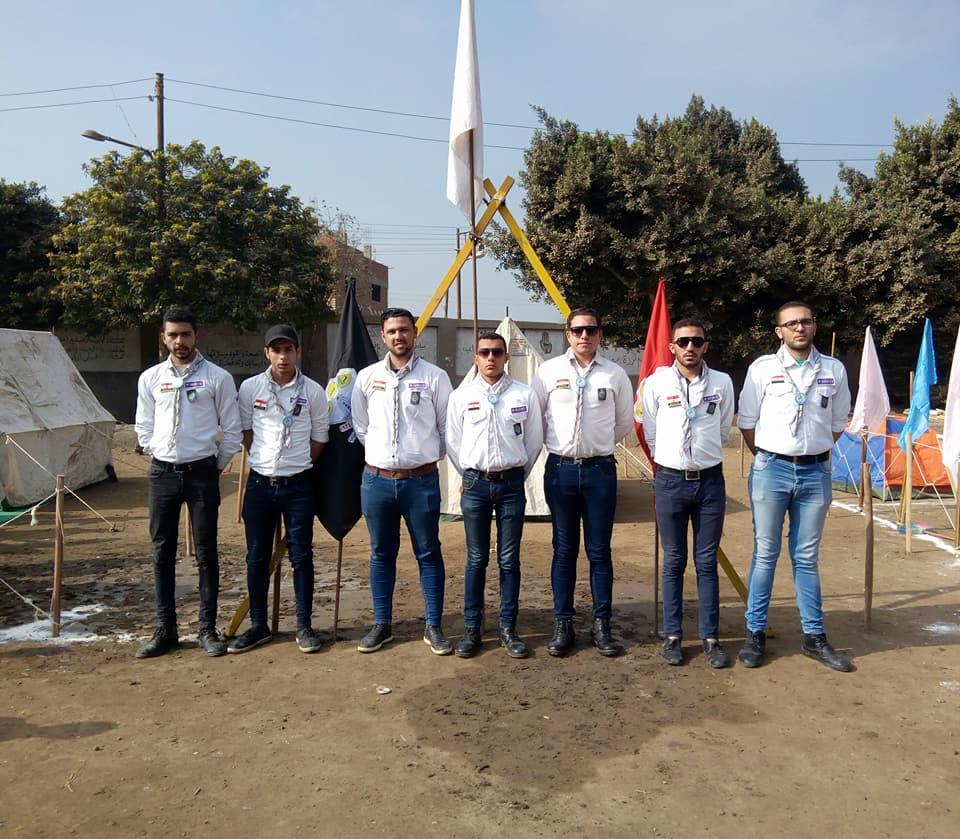 حصول عشيرة الجوالة بالمعهد على المستوى الأول فى لقاء صنافير الكشفى الحادى عشر