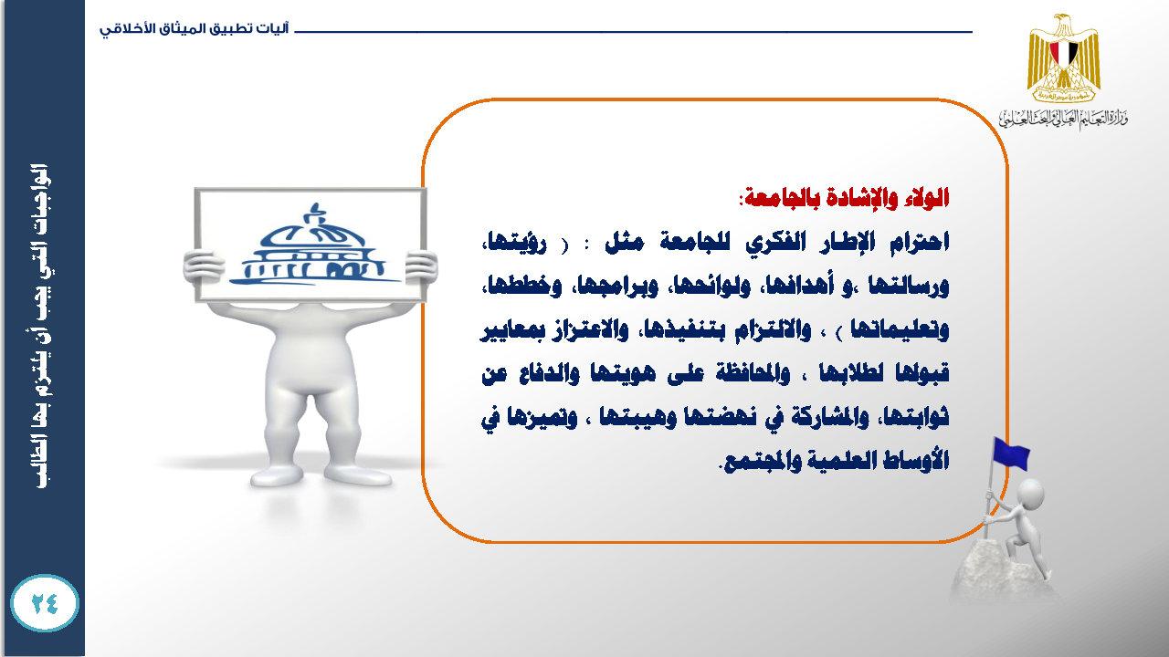 الميثاق الأخلاقي للمجتمع الجامعي- ميثاق الطالب الجامعي_Page35