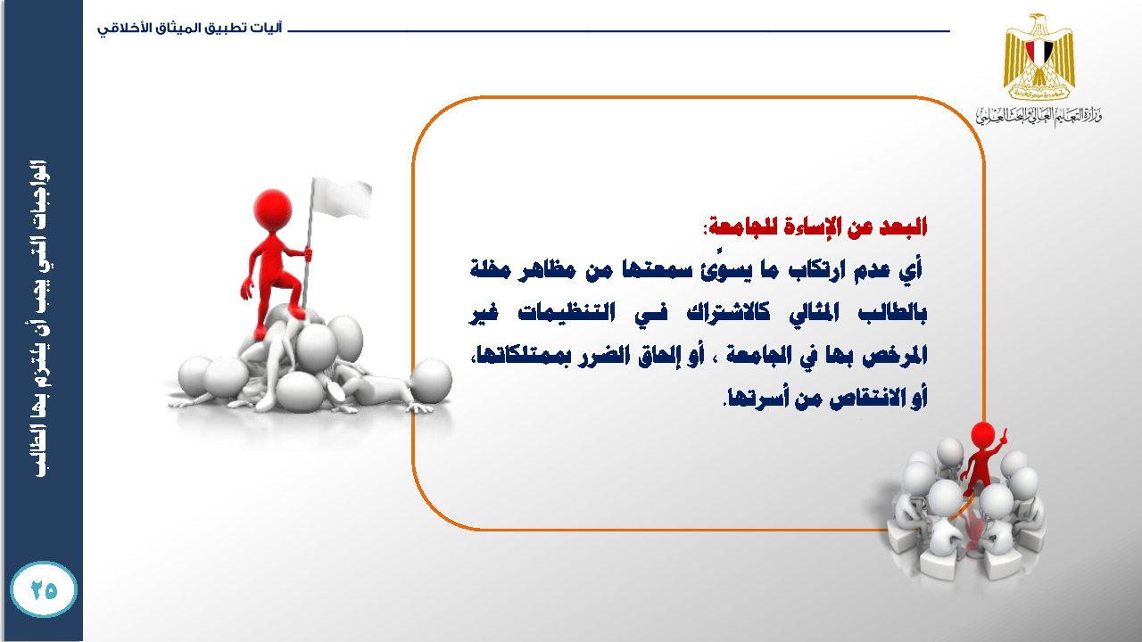 الميثاق الأخلاقي للمجتمع الجامعي- ميثاق الطالب الجامعي_Page36