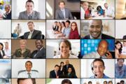 استخدام برنامج zoom cloud meetingلطلبة التدريب الميدانى بالمعهد